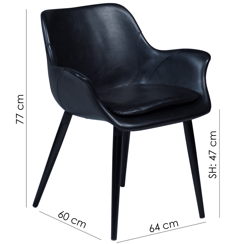 combino-armchair-vintage-light-brown-art-leather-with-black-conical-metal-legs-100690891-15-measurements
