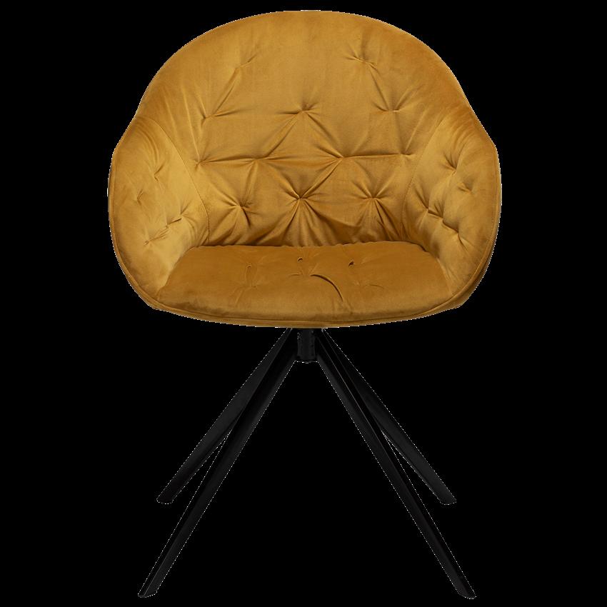 cray-chair-bronze-velvet-with-black-metal-legs-100320302-02-front