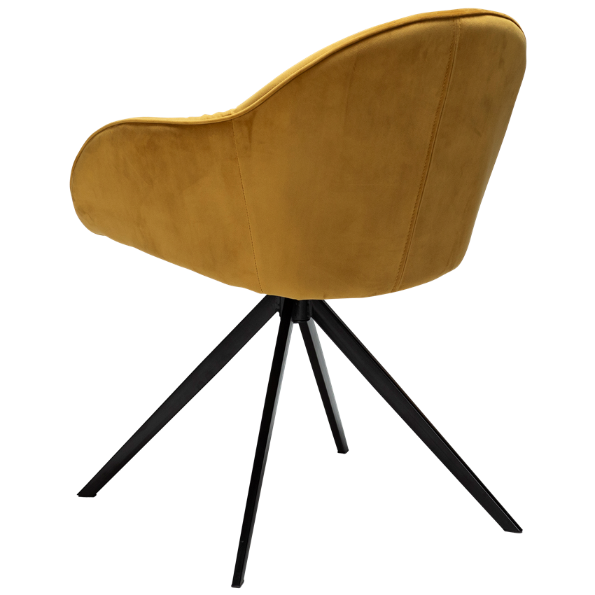 cray-chair-bronze-velvet-with-black-metal-legs-100320302-05-back-angle
