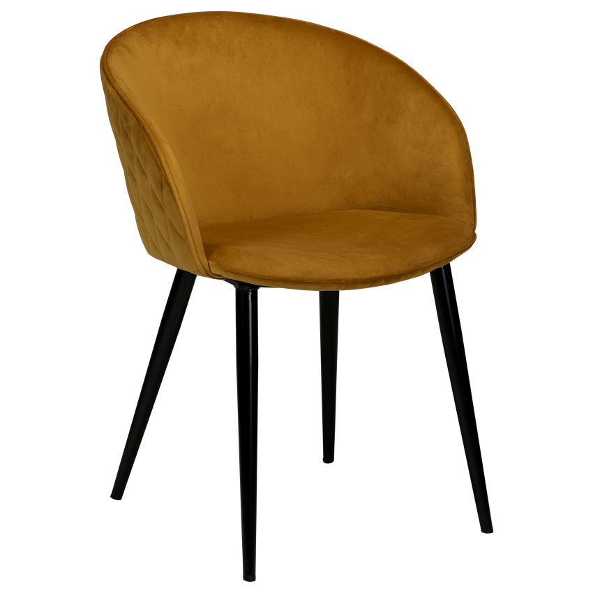 dual-chair-bronze-velvet-with-black-conical-metal-legs-100800695-01-main