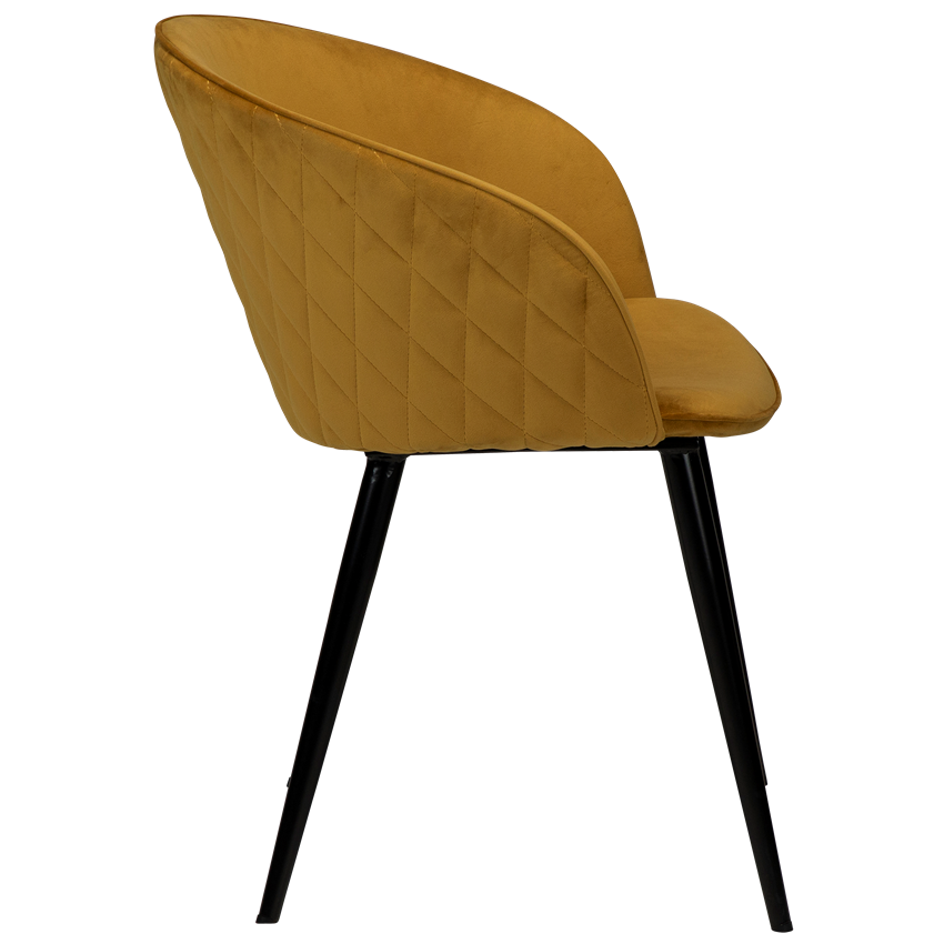 dual-chair-bronze-velvet-with-black-conical-metal-legs-100800695-03-profile