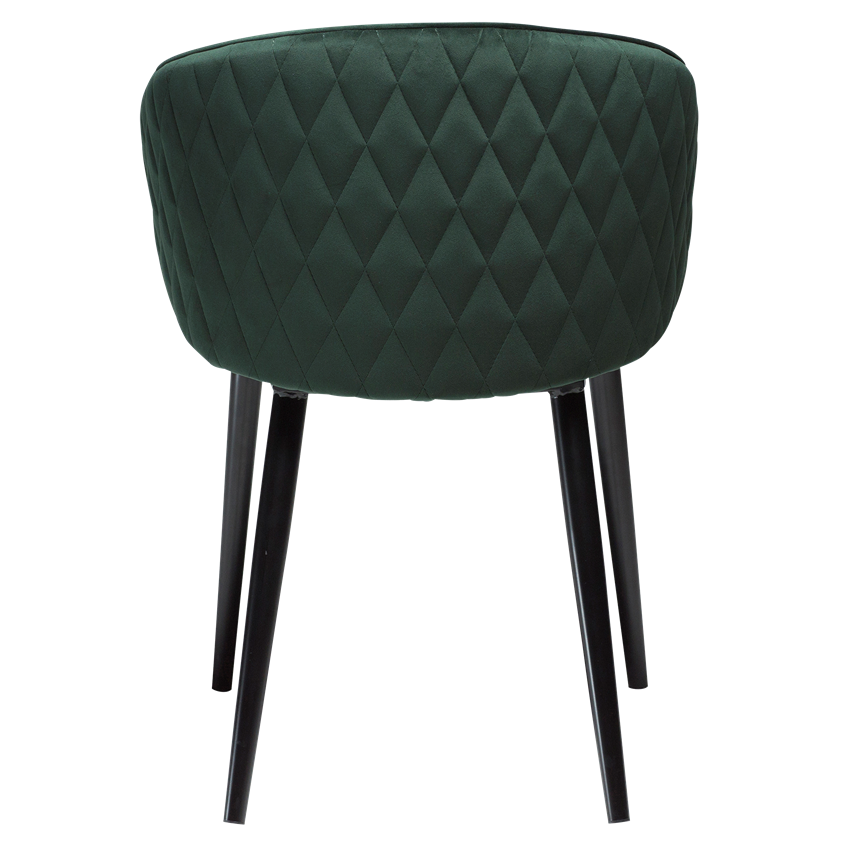 dual-chair-emerald-green-velvet-with-black-conical-metal-legs-100800620-04-back