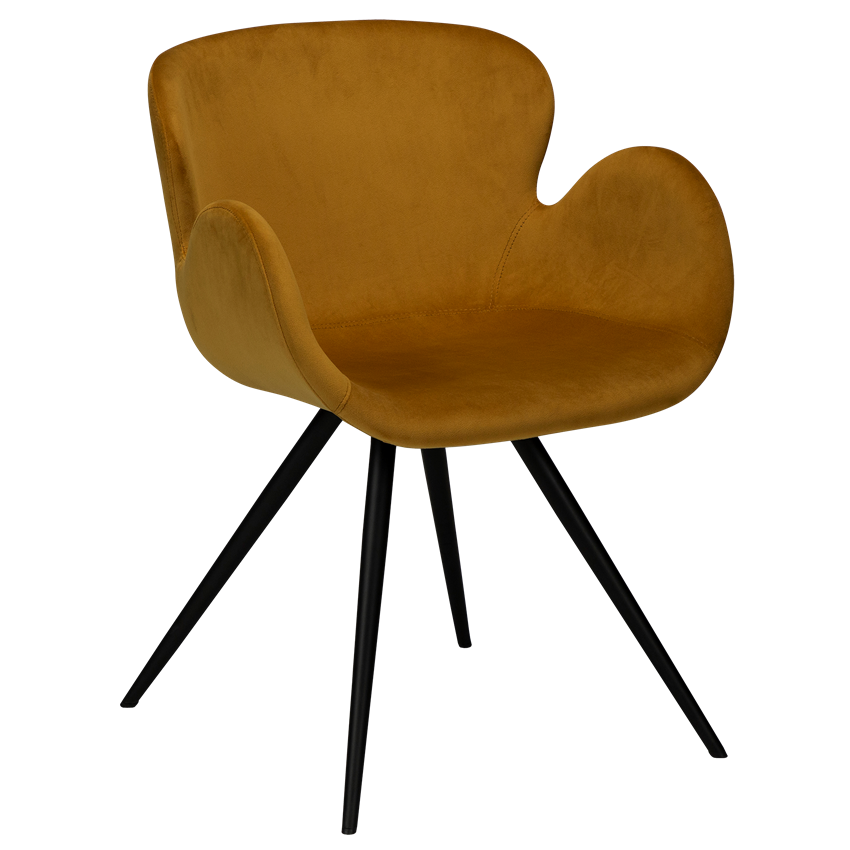 gaia-chair-bronze-velvet-with-black-conical-metal-legs-100300328-01-main