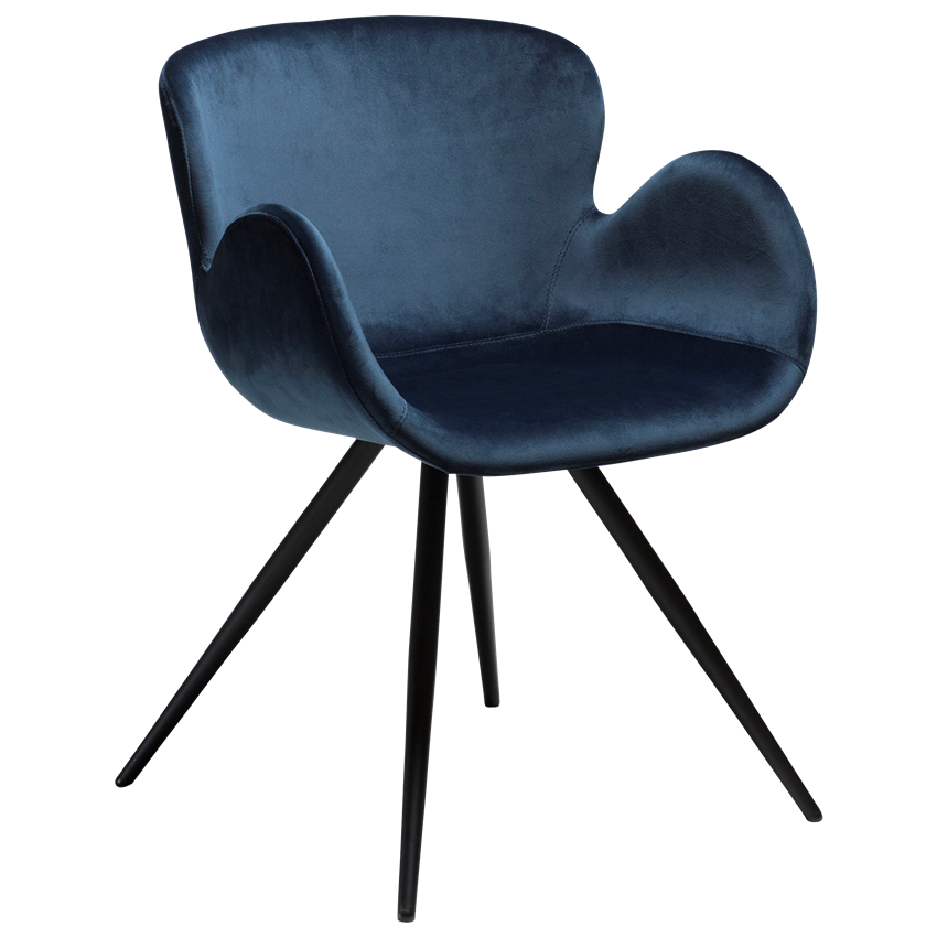 gaia-chair-midnight-blue-velvet-with-black-conical-metal-legs-100200150-01-main