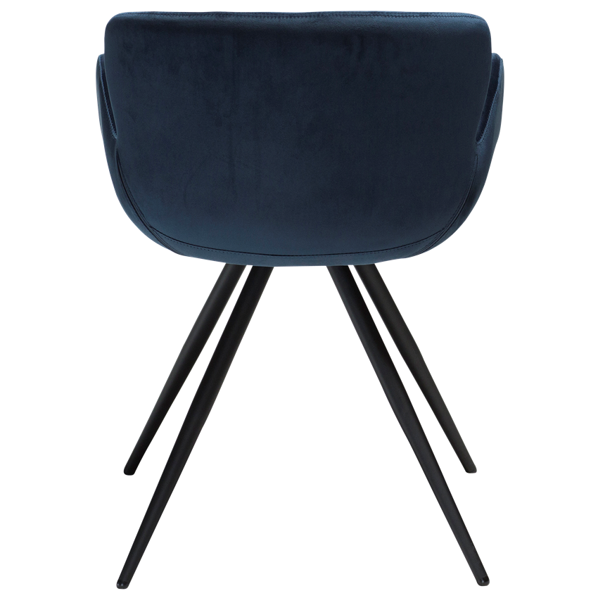 gaia-chair-midnight-blue-velvet-with-black-conical-metal-legs-100200150-04-back